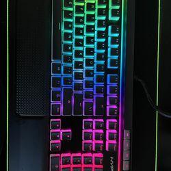 HyperX Alloy RGB Mechanical Keyboard With Cherry MX Brown Thumbnail