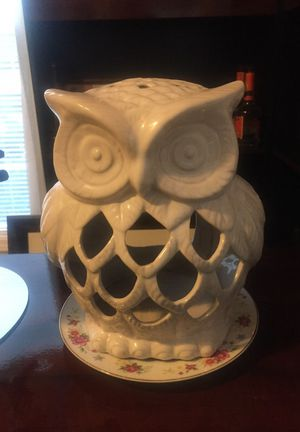 owl candleholder for Sale in Apex, NC