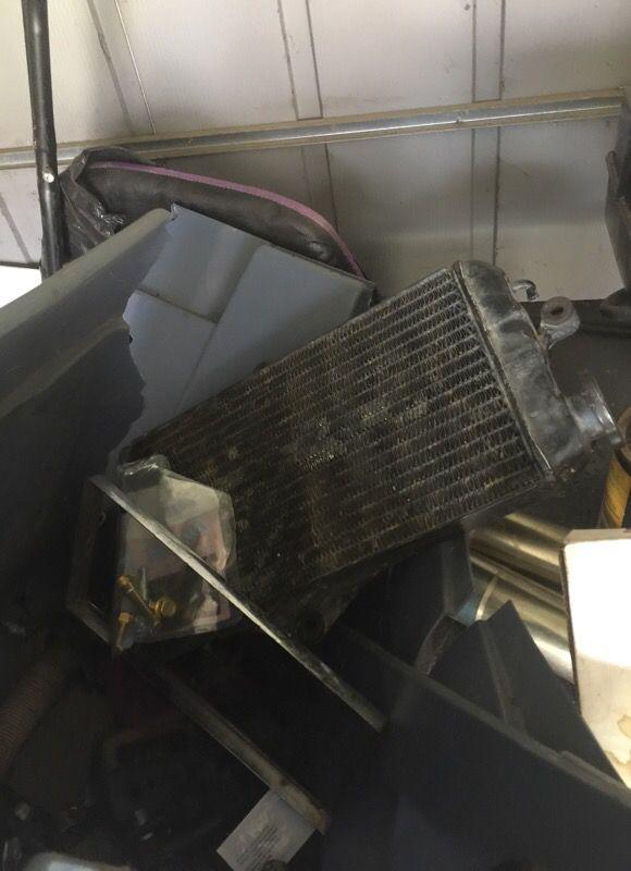 Banshee radiator