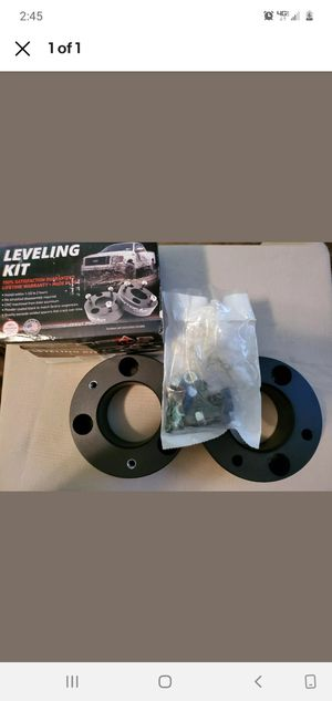 Photo 3 inch front leveling kit for 2016 gmc Sierra