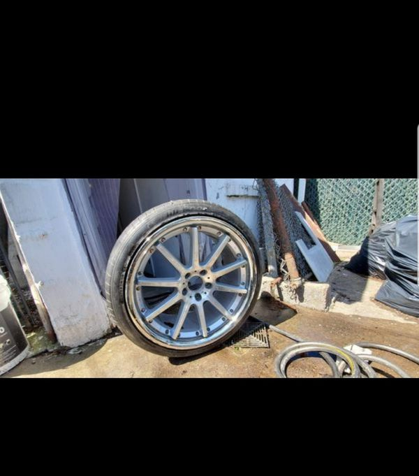 5x120 20inch Rennen Rc10 Blue Label Wheels For Sale In