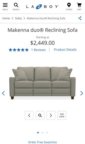 Brilliant Brand New La Z Boy Reclining Sofa For Sale In Columbus Oh Evergreenethics Interior Chair Design Evergreenethicsorg