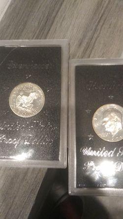 1971 Eisenhower United States proof dollar Thumbnail
