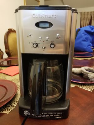 Cuisinart Coffee Maker for Sale in Plano, TX