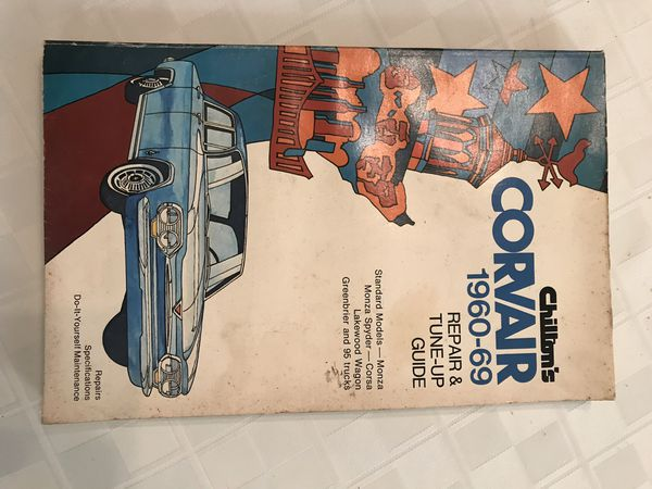 chilton corvair manual
