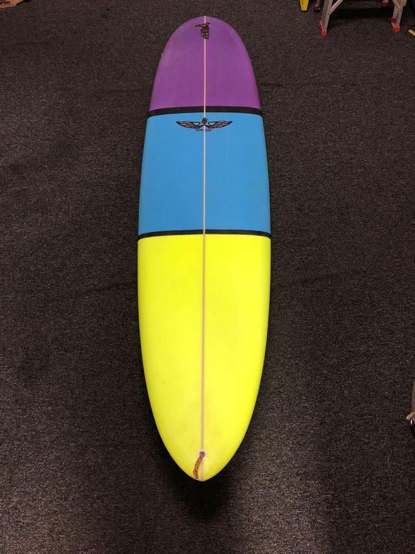8 0 Von Sol Surfboards Slot Noserider Mini Longboard For Sale In