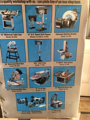 Miraculous Delta 1Belt 5Disc Sander For Sale In Phoenix Az Offerup Gmtry Best Dining Table And Chair Ideas Images Gmtryco