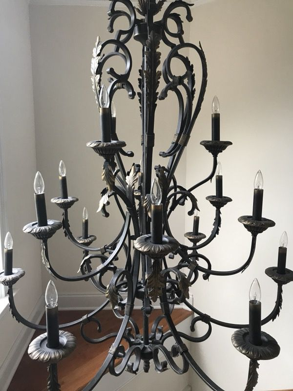 Large Elegant Chandelier 15 Light For Sale In Morrisville
