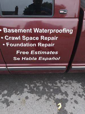 Basement waterproofing Foundation repair for Sale in TN, US