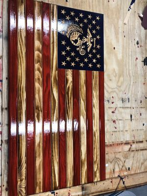 Handmade flags. I can do any request. See and like our site. 150for flag pictured for Sale in Martinsburg, WV