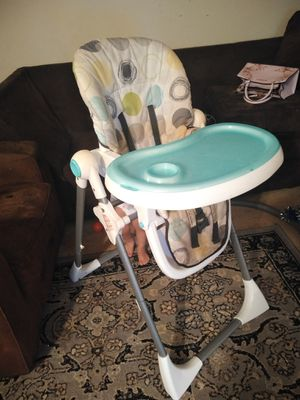 High chair, 2t girl clothes, potty train, mini baby crib and more... for Sale in Gaithersburg, MD