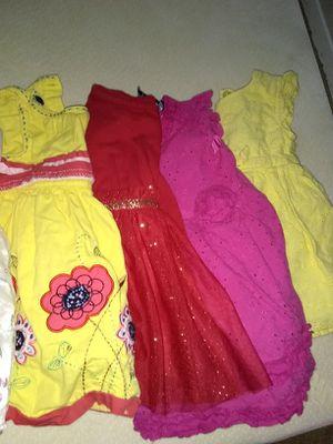 6 dress 6 vestidos de niña talla 9 y 12 meses for Sale in Manassas, VA