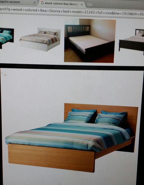 ikea full size bed furniture in dallas tx offerup