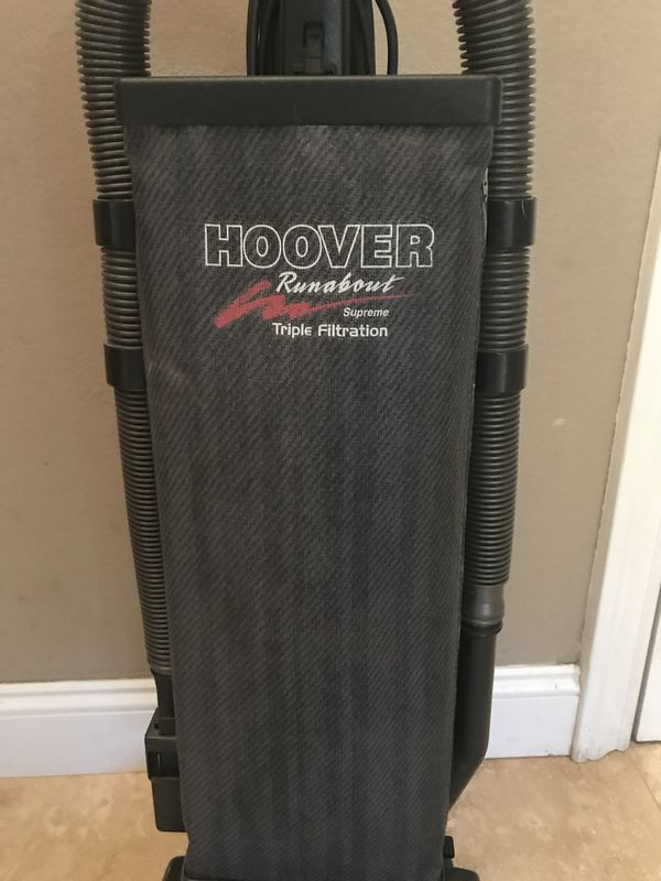 Hoover Runabout Professionally Cleaned New Belt New Bag Works