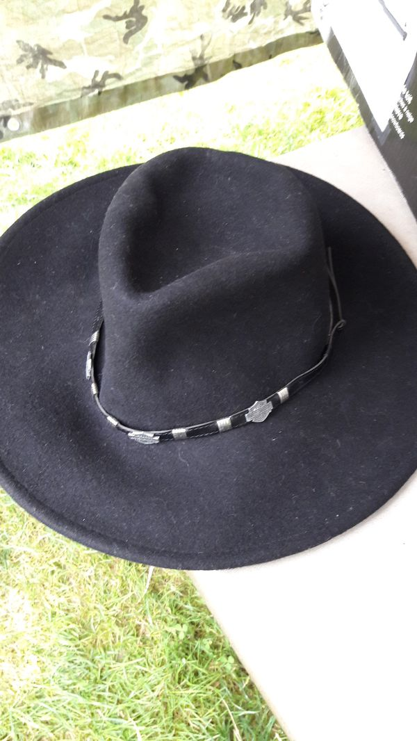 23000a3e7699b Harley Davidson cowboy hat NEW Large for Sale in Bothell