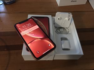 IPHONE XR 64GB BRAND NEW FACTORY UNLOCKED for Sale in Annandale, VA