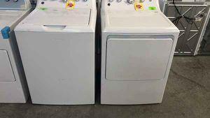 Photo GE washer dryer set 8R1