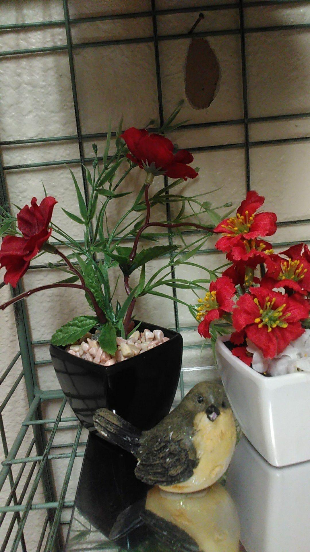 Mini flower trio