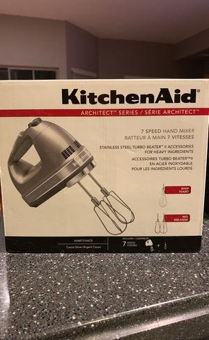 New KitchenAid Hand Mixer for Sale in Chantilly, VA
