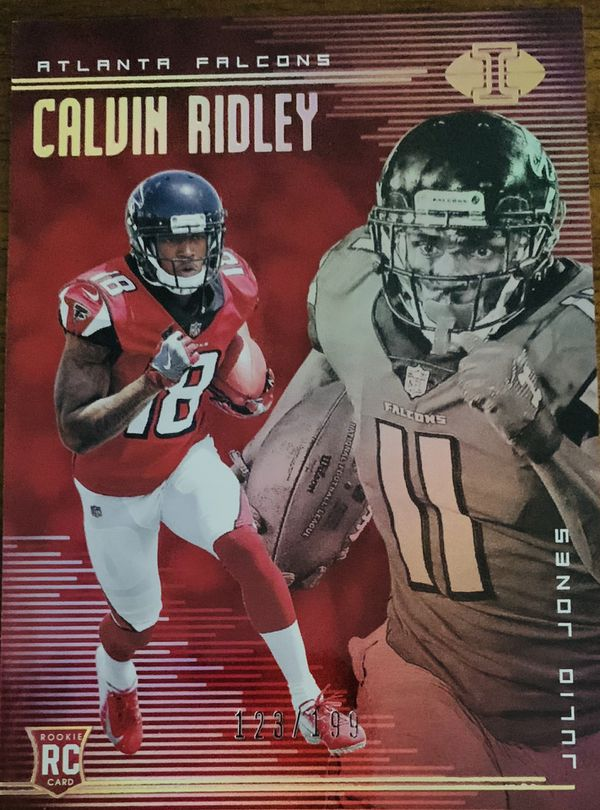 promo code 55350 76640 2018 Illusions Calvin Ridley. 123/199 Atlanta Falcons rookie card for Sale  in Dallas, NC - OfferUp
