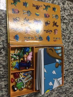 Disney Toy story my busy book with 12 figures for Sale in Chandler, AZ