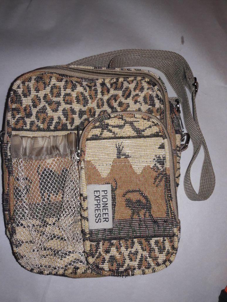 Pioneer Express Safari Backpack / Purse