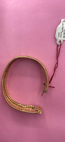 """10K 19.9g Herringbone Bracelet 71/2"""" Thumbnail"""