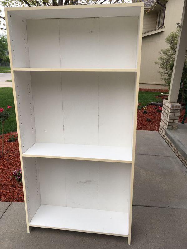 Large White Bookshelf Furniture In Omaha NE