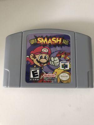 Super smash bros Nintendo 64 Video game for Sale in Las Vegas, NV