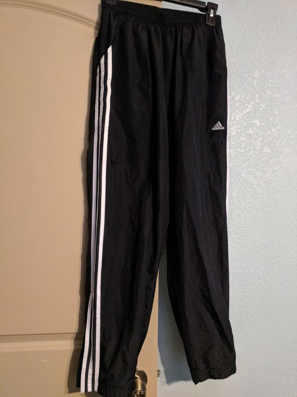 Adidas men's athletic pants zip bottom for Sale in Tulsa, OK OfferUp