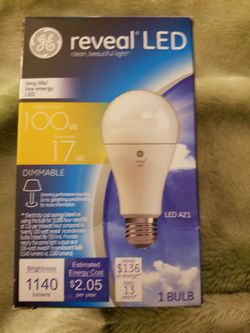 reveal LED Dimmable Light Bulb Thumbnail
