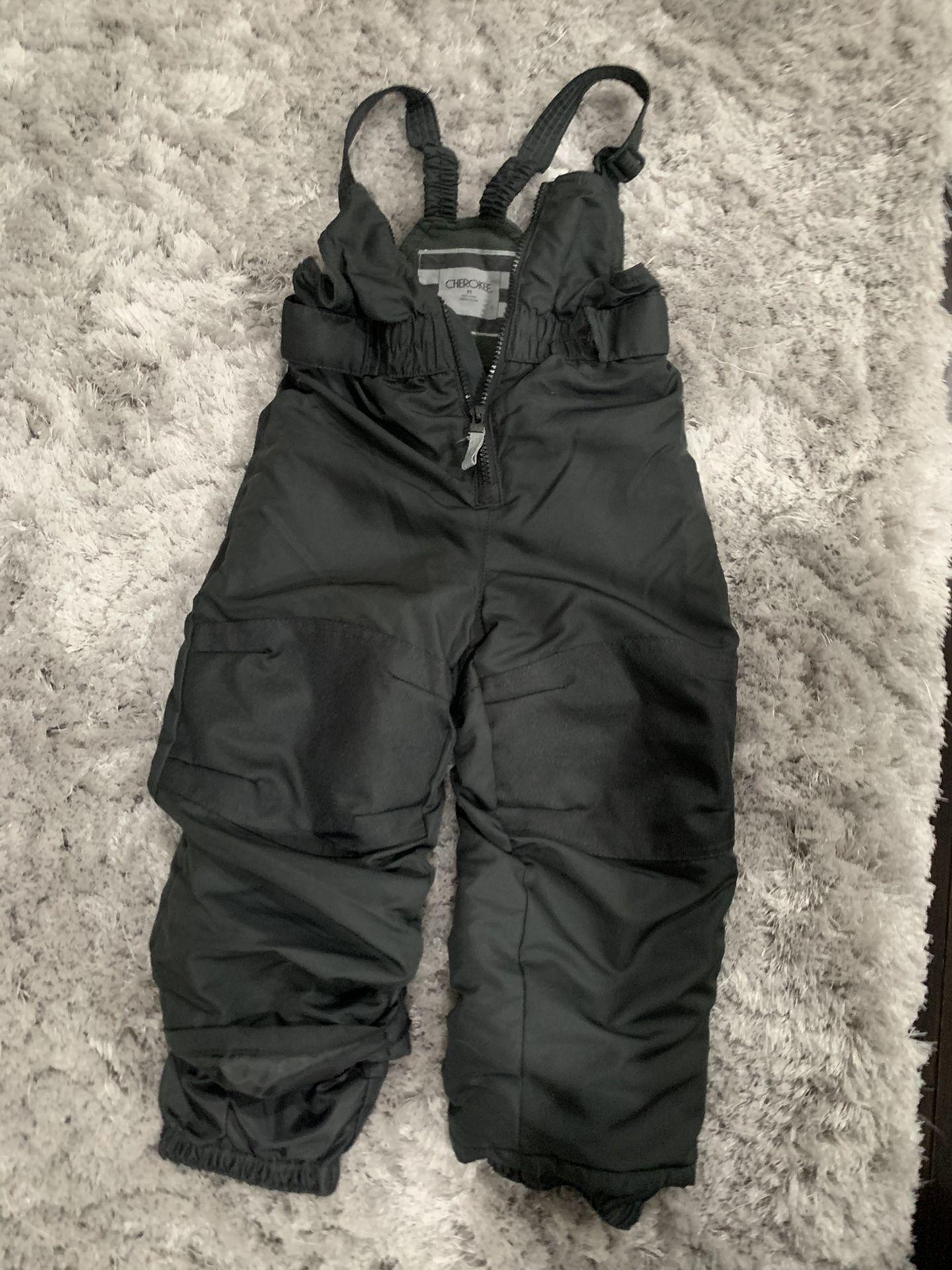 Kids Size 3T Snow bib