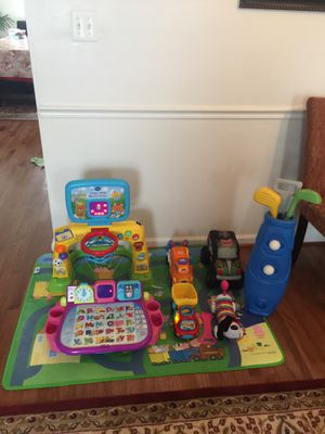 Kids toys all for $20 including the rug for Sale in Woodbridge, VA