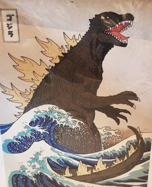 Japanese dragon Godzilla for Sale in Fresno, CA