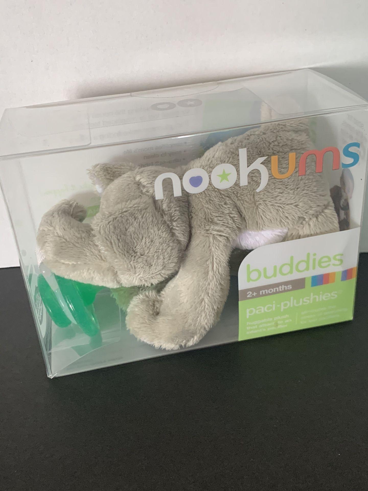 Nookums buddies pacifier 2+ months