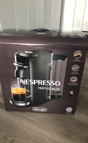 Nespresso Vertuo Plus (new in box) for Sale in New York, NY