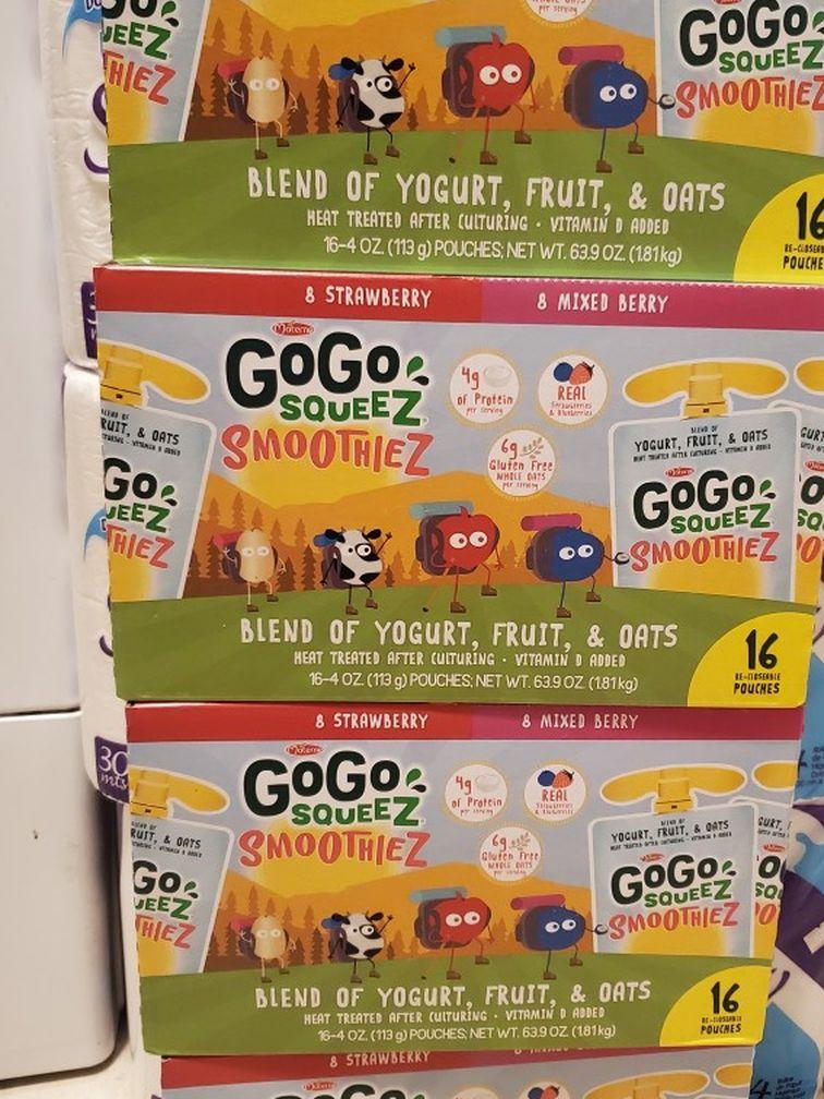 GoGo Squeez Smoothies 16 Ct