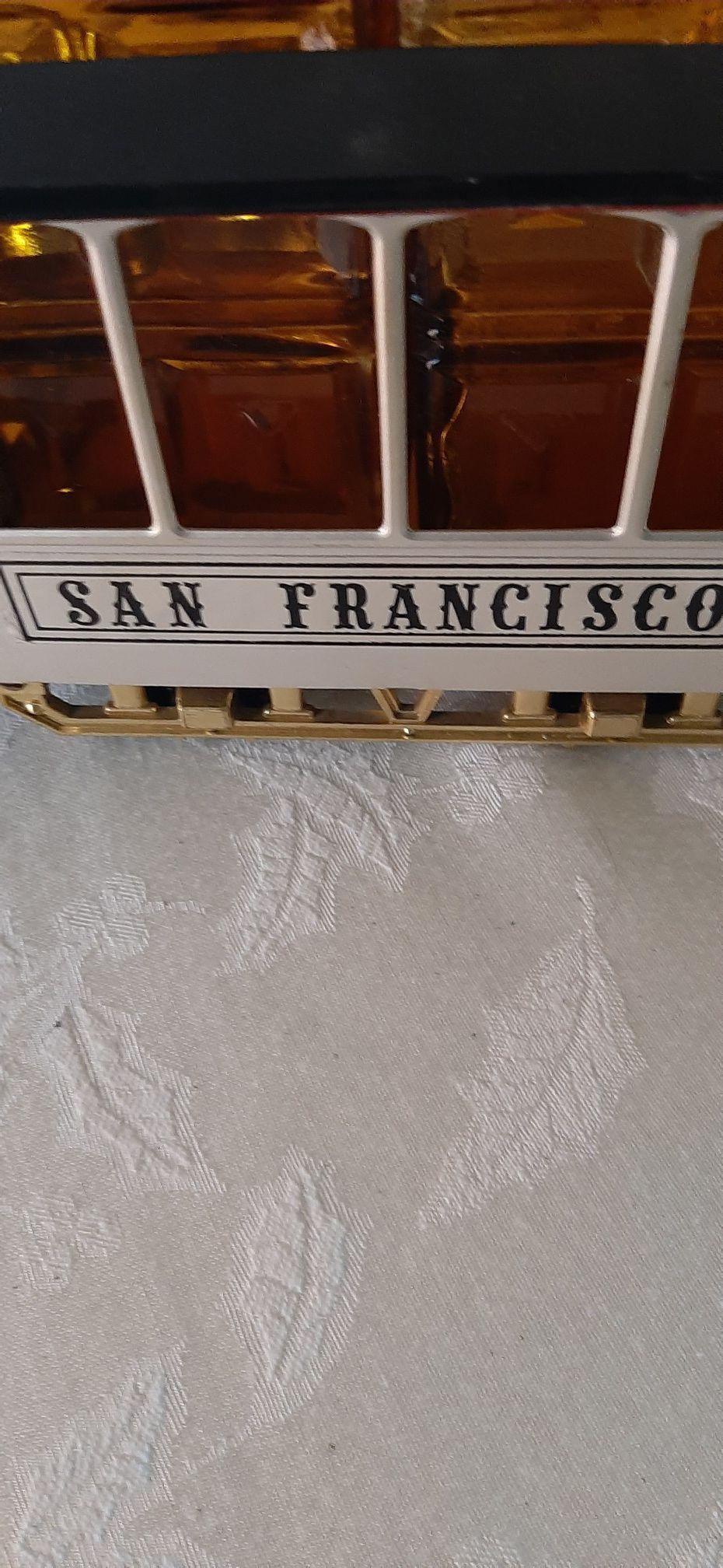 Vintage San Francisco Trolley Decanter