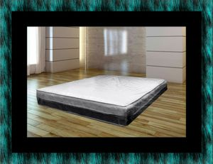 Single-sided pillowtop mattress with box all size for Sale in Fairfax, VA