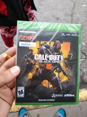 PlayStation 4 Call of Duty Black Ops 4 for Sale in Dallas, TX