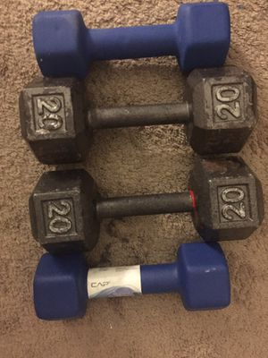 Dumbbells 20 and 10 pounds for Sale in Colesville, MD