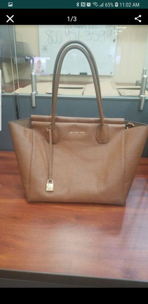 43374257a1d5 Mk brown leather bag good condition for Sale in Garden Grove, CA ...
