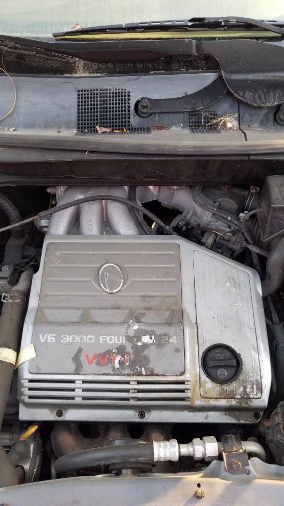 lexus rx300 engine