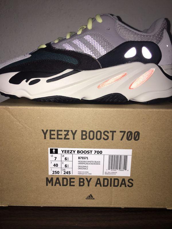 adidas yeezy spinta 700 ondata runner sz 7 per la vendita a san josé, california