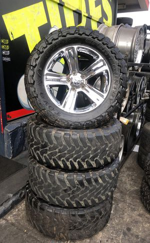 Dodge rims and toyo tires $950 for Sale in Los Angeles, CA
