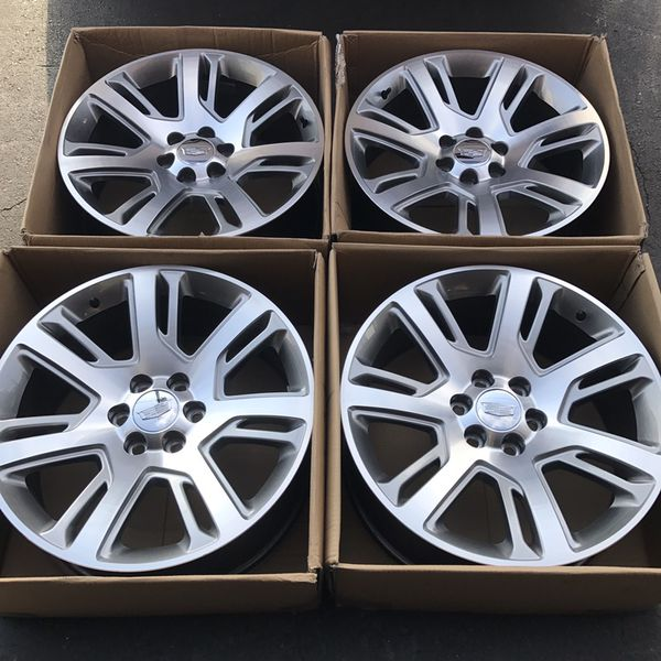 "2016 22"" oem Escalade factory wheels 22 inch gray rims for ..."