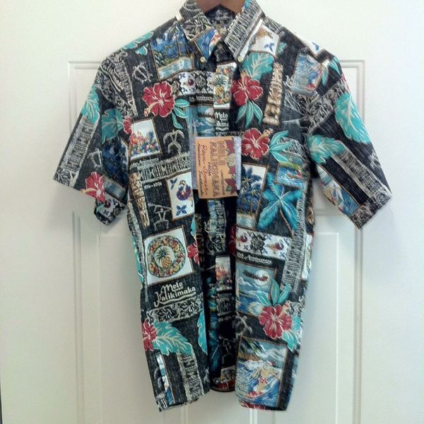 7460a14a NWT REYN SPOONER Golden Anniversary Shirt for Sale in Dana Point, CA ...