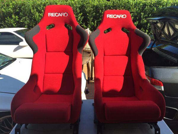 Recaro Spg Carbon Fiber Bucket Seats For Sale In Miami Fl Offerup