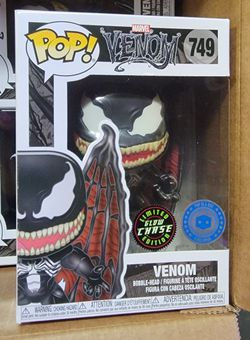 """FUNKO """"MARVEL"""": VENOM """"W/WINGS"""" (L.E. GITD CHASE)!! (EXTREMELY RARE/VHTF) **PIAB EXCLUSIVE** 🔥 (MINT CONDITION/INCLS HARD PROTECTOR) *AVAIL* Thumbnail"""