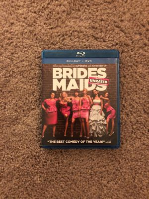 Bridesmaids and Pitch Perfect (1&2) Blueray DVDs for Sale in Chicago, IL